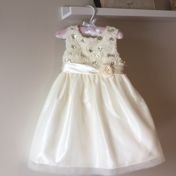 American Princess Dresses | Gold And Ivory Special Occasion Dress ...